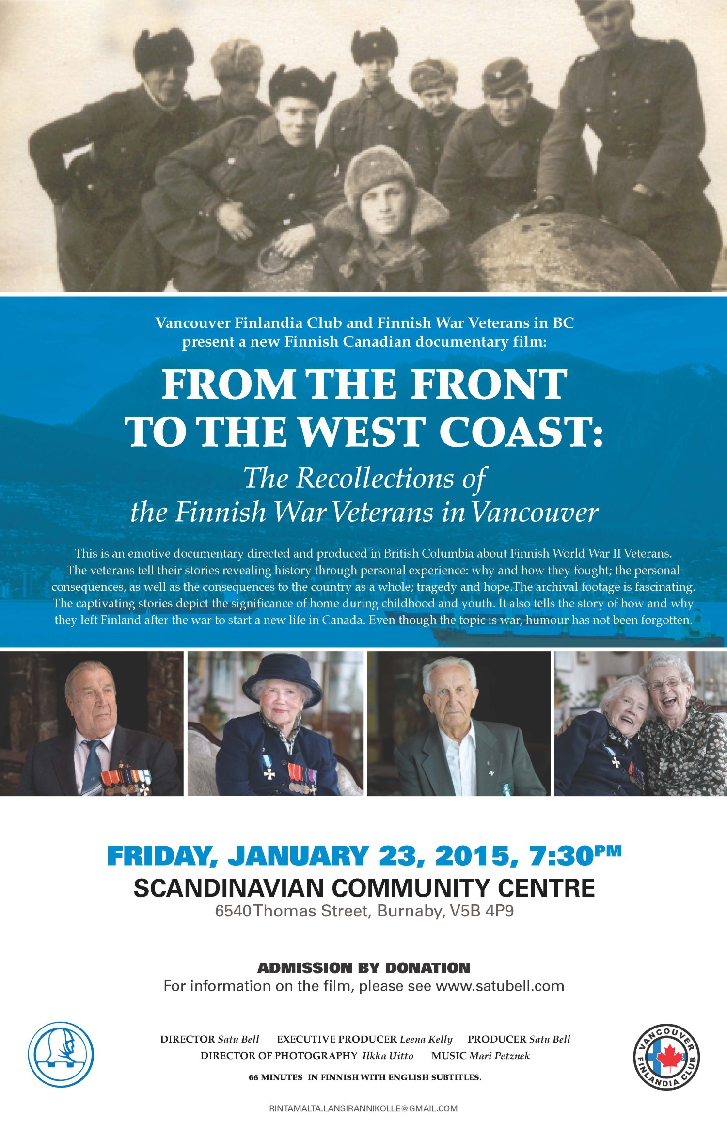 The-Recollections-of-the-Finnish-War-Vetrans-in-Vancouver-Book-Documentary-Film